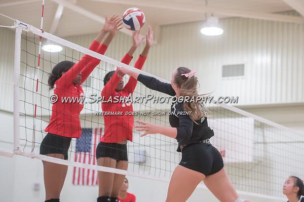 2019 Eagle Rock Volleyball vs Taft