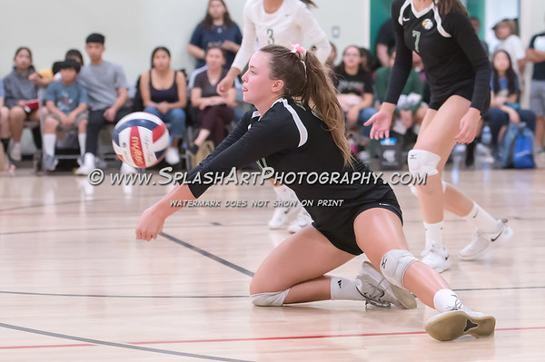 2019 Eagle Rock Volleyball vs Taft