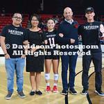 NCAA WOMENS VOLLEYBALL:  NOV 03 George Mason at Davidson