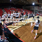 NCAA WOMENS VOLLEYBALL:  SEP 14 NC Central at Davidson