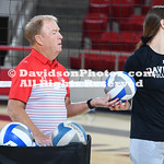 NCAA WOMENS VOLLEYBALL:  SEP 13 Presbyterian at Davidson