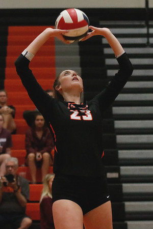 Rylee Moseman had 12 assists in Republic's win over Mountain Grove.
