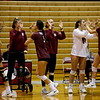 20191005 Womens Volleyball Seattle Pacific University Falcons versus Western Oregon University Wolves Snapshots