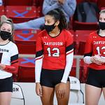 NCAA WOMENS VOLLEYBALL:  JAN 24 Charlotte at Davidson
