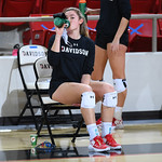 NCAA WOMENS VOLLEYBALL:  JAN 22 Jacksonville at Davidson