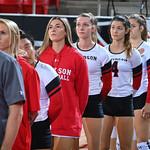 NCAA WOMENS VOLLEYBALL:  Oct 01 George Washington at Davidson
