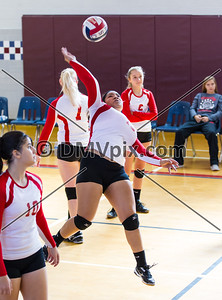 Annandale vs Marshall Varsity Volleyball (27 Sep 2014)