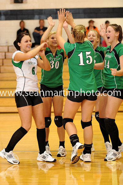 Bennett Invitational Volleyball Tournament 9-12-09