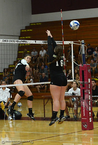 Chico State's  Volleyball team Saturday, Aug. 20, 2016, at Acker Gym in Chico, California. (Dan Reidel -- Enterprise-Record)