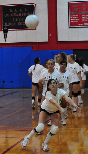 DHS Varsity Volleyball Scrimage vs Amador - 03 Sept 2009