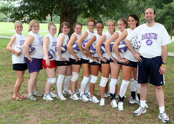 DS Varsity Volleyball Team fall 2006