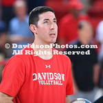 NCAA WOMENS VOLLEYBALL:  SEP 21 Duquesne at Davidson