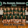 2019 FGR JV Volleyball Team 8x10