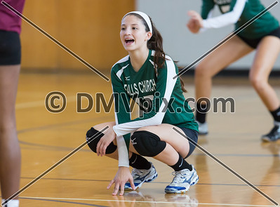Falls Church vs Mt Vernon Varsity (27 Sep 2014)