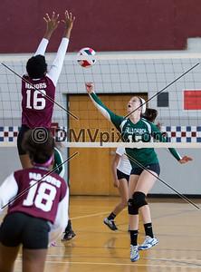 Falls Church vs Mt Vernon Varsity Volleyball (27 Sep 2014)