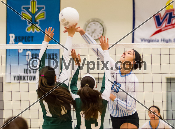 Falls Church @ Yorktown Varsity (23 Sep 2013)