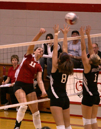 Grace College Volleyball vs Goshen College (Oct-18-06)
