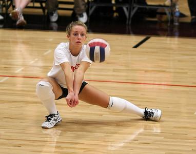 Grace College (Winona Lake IN) Volleyball vs Tiffen (Ohio) University (Oct 19, 2007)