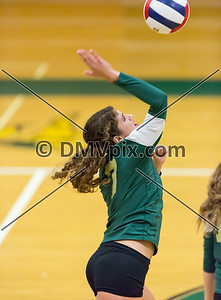 Hayfield @ Langley Varsity Volleyball (06 Oct 2014)