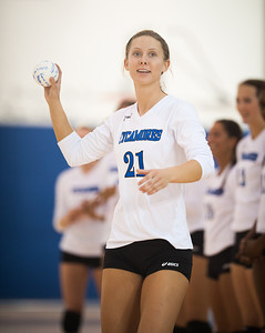 Indiana State University falls to IUPUI 3-1 in volleyball at the arena.