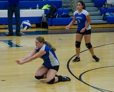 LHS v. NM girls volleyball 9-16-15