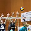 Ligue nationale B, saison 2013-14, tour de qualification, match VBC NUC II - VBC Cossonay (La Riveraine) (0-3)