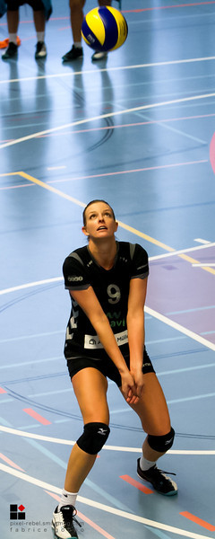 Match de volleyball de ligue nationale B play-out saison 2013-14, NUC2 - VBC Steinhausen (1-3), Salle du Mail à Neuchâtel