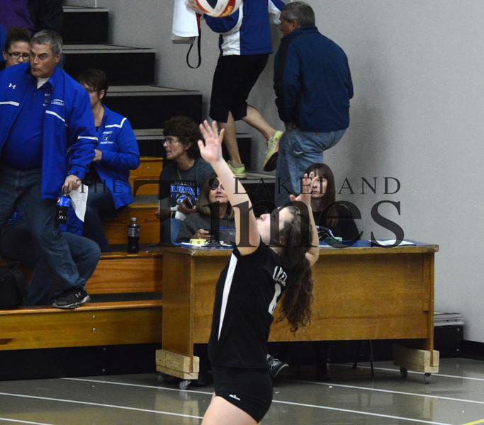 10-20-15 Lakeland Volleyball Regionals at Merrill