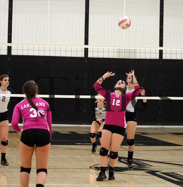 10-6-15 Lakeland Volleyball vs. Tomahawk