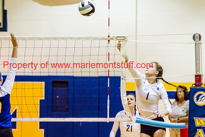 MHS Volleyball vs Madeira 2016-9-20-18