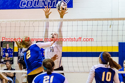 MHS Volleyball vs Madeira 2016-9-20-14