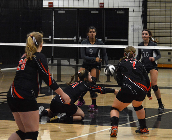 8-22-15 Mercer Volleyball at Lakeland Scrimmage