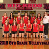 Milan 8x10 2018 8th grade Volleyball