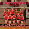 Milan 8x10 2018 7th grade Volleyball