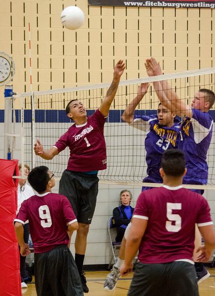 Monty Tech v. FHS volleyball 4-26-16