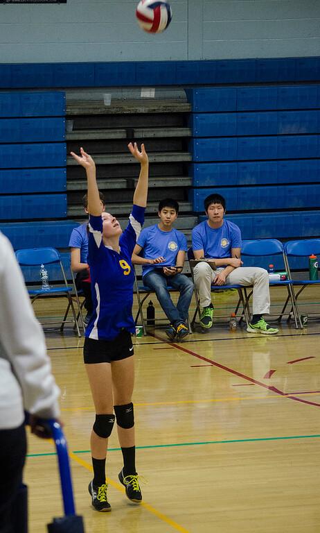 NM v. AB volleyball 11-05-15