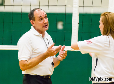 Potomac Falls @ Langley Freshman Volleyball (04 Sep 2014)