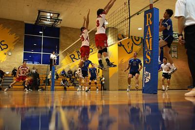 Khalil and Hall block attempt (6J0E4371) Karim Khalil and Reid Hall try to block Marszalek (6J0E4371)
