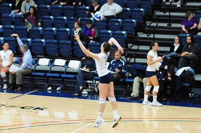 St. Mary's Women's Volleyball vs Loyola Marymount - 29 Oct 2009