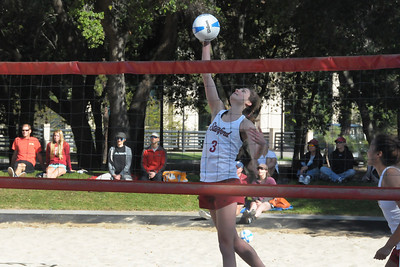 Sand Volleyball: USF@Stanford 130421