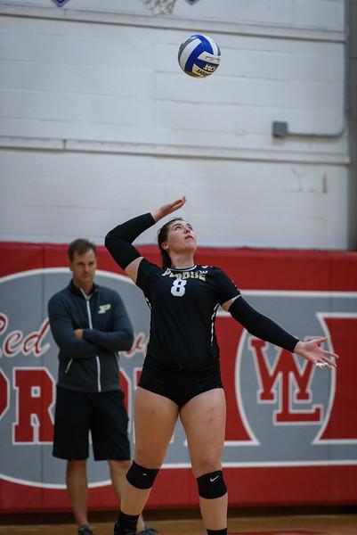 8/13/16 Purdue Volleyball Scrimmage, Lexi Dorn