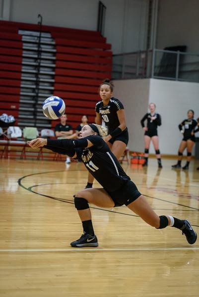 8/13/16 Purdue Volleyball Scrimmage, Carissa Damler