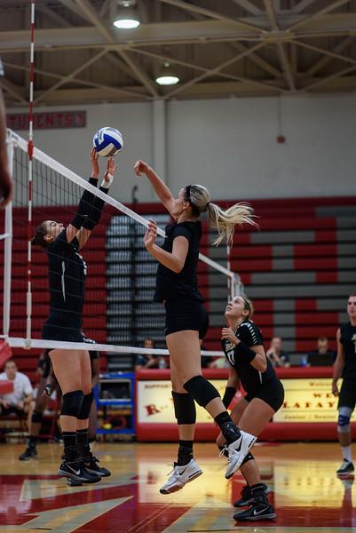 8/13/16 Purdue Volleyball Scrimmage,