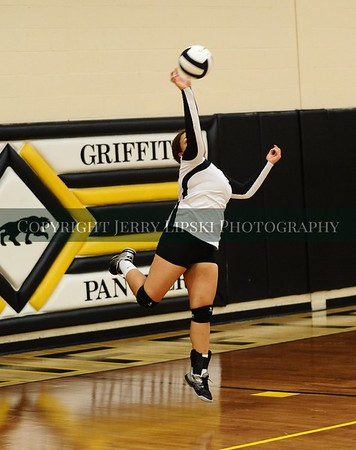 Sept 9 2014 Lady Panther Volleyball vs Highland