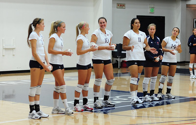 St. Mary's Women's Volleyball vs San Diego State - 07 Sep 2009