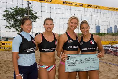 2007623 EVP Tour Chicago693 Women's pro 1st place - 3 Iwona Lodzik, Rasa Virsilaite CHICAGO 1  2 Leanne Haarbauer, Kerstin Pichler HERMOSA BEACH 2