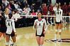 Cassidy Lichtman heads to serve