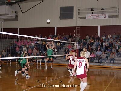 Volleyball vs Cville tournament