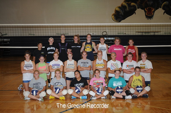 Volleyball Team Pictures and Camp