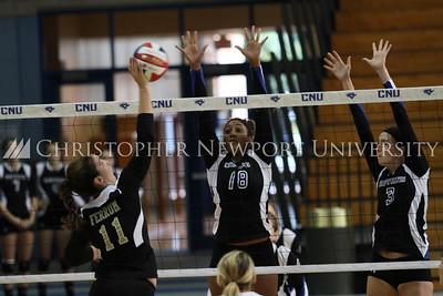 CNU volleyball vs Ferrum
